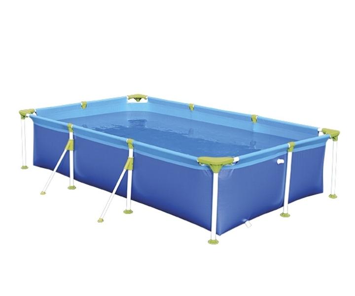 piscina de plastico 5.000 litros rectangular premium mor